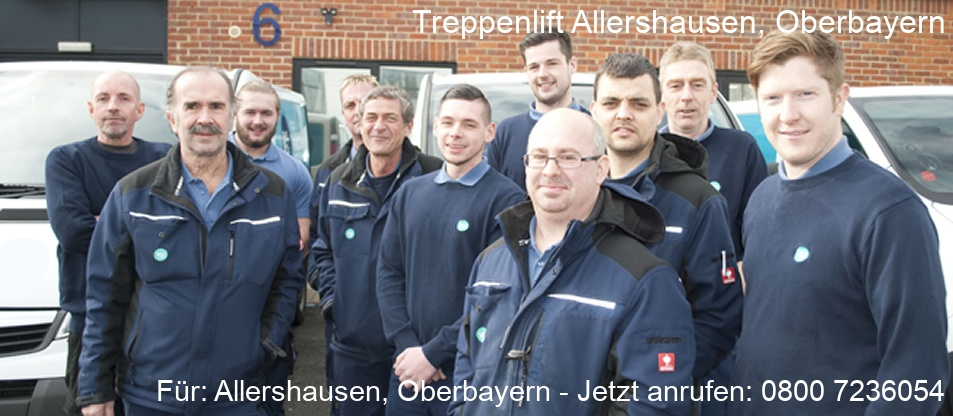 Treppenlift  Allershausen, Oberbayern