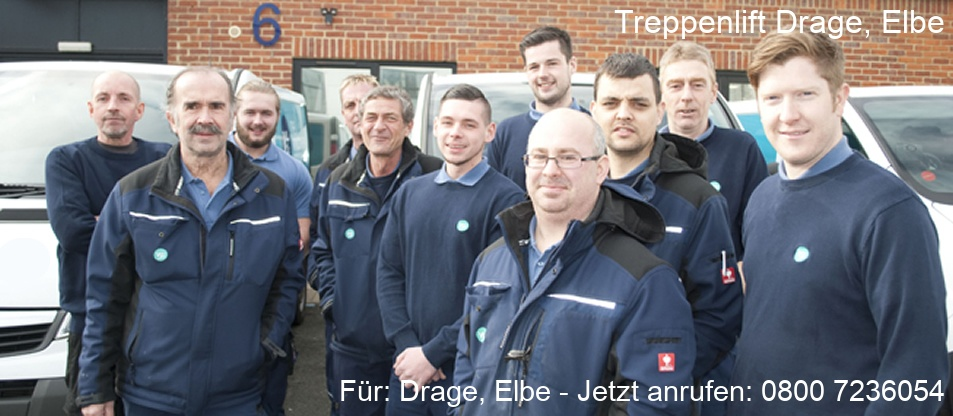 Treppenlift  Drage, Elbe