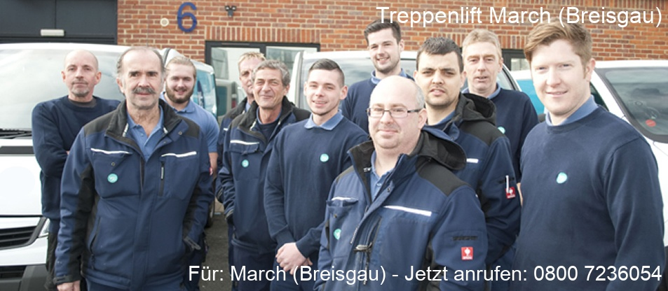 Treppenlift  March (Breisgau)