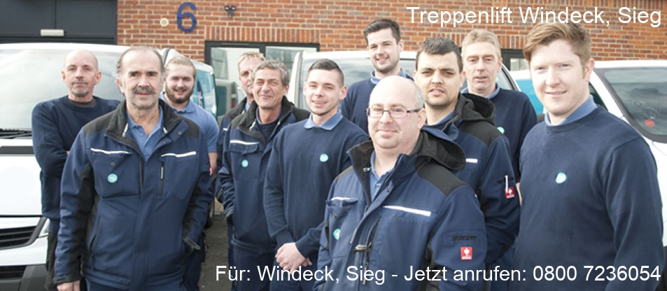 Treppenlift  Windeck, Sieg