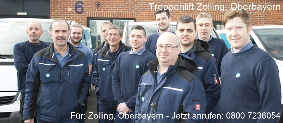 Treppenlift  Zolling, Oberbayern